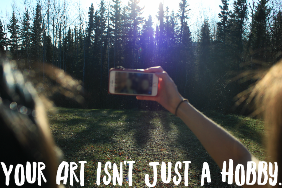 Your Art Isn't Just a Hobby. It's a Passion. // On Art, Social Validation, and Creation