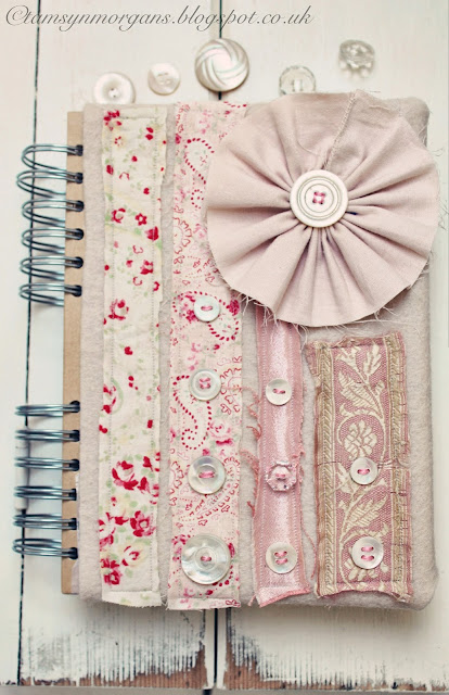 Covered Notebook-Craft Blog Club Challenge
