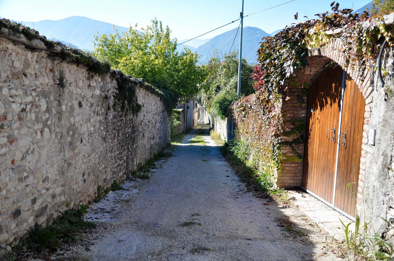 Backstreet, Feltre, Veneto, Italy