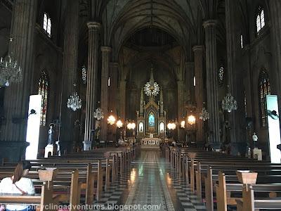 San Sebastian interior