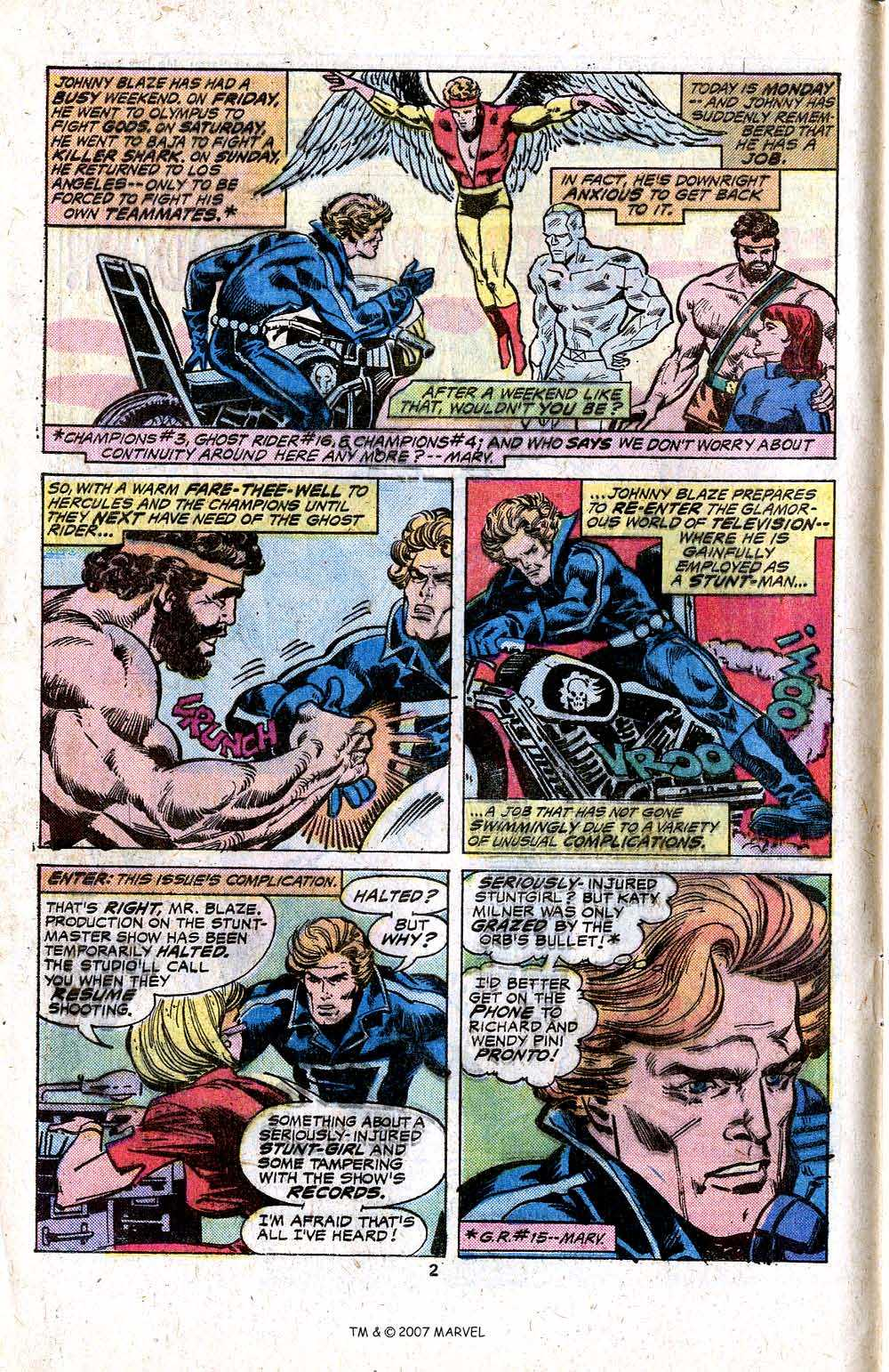 Ghost Rider (1973) Issue #17 #17 - English 4