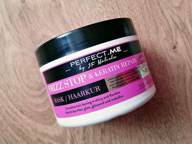 PERFECT.ME, frizz stop & keratin repair - maska do puszących się włosów