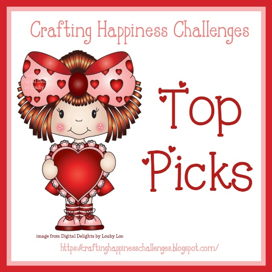 Top Pick at Crafting Happiness Challenges