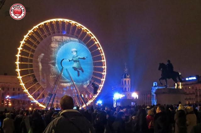 Fête des lumières Lyon - 2014 Bellecour