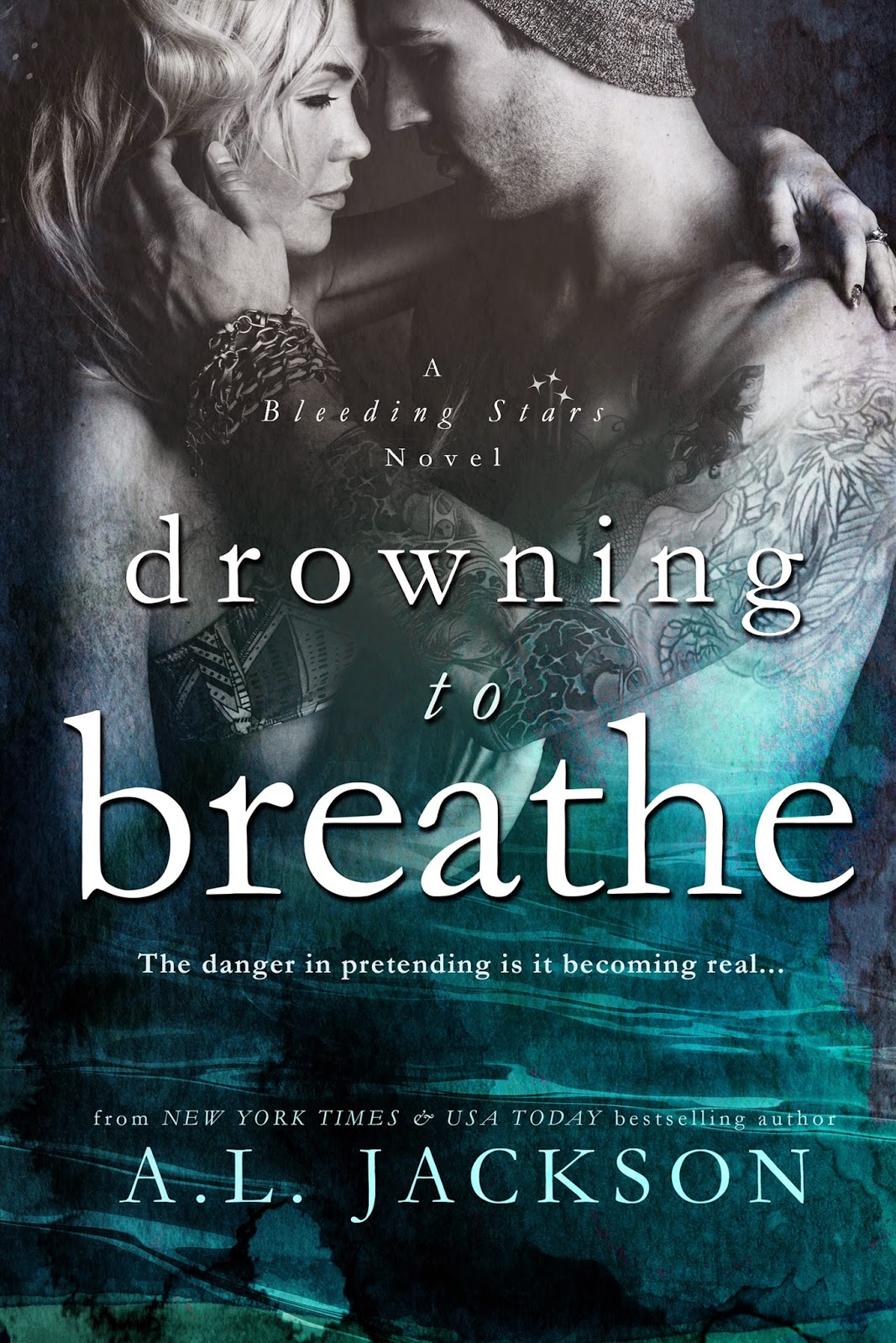 Cover Reveal: Drowning to Breathe by A.L. Jackson