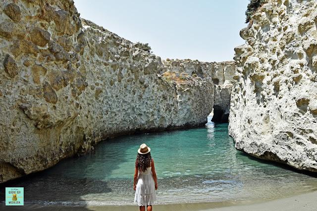 Papafragas, isla de Milos (Grecia)