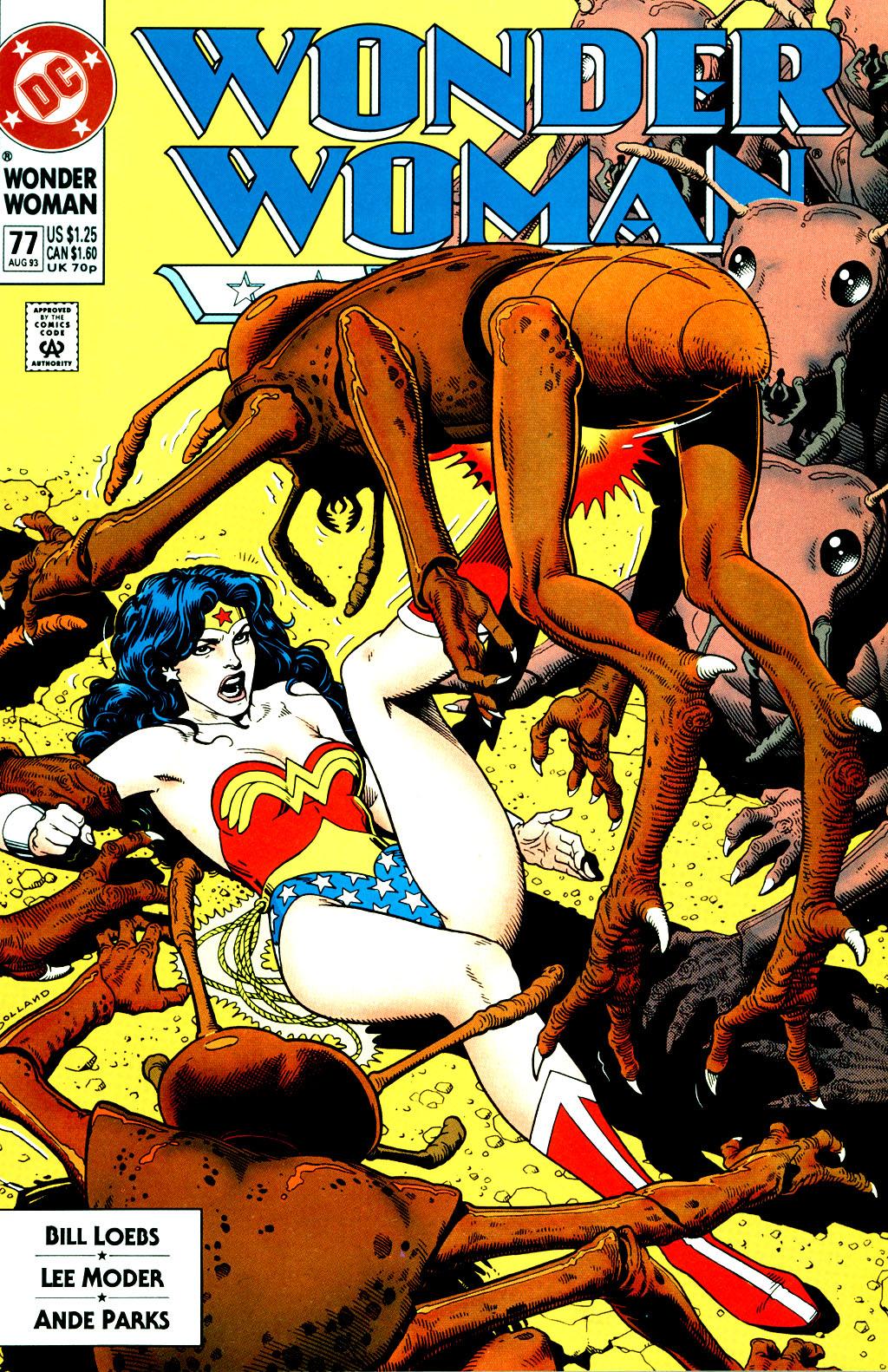 Read online Wonder Woman (1987) comic -  Issue #77 - 1