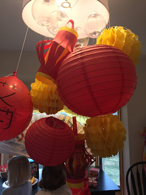 Re-use party decorations Chinese birthday party, PIn the Eye on the dragon- The Style Sisters