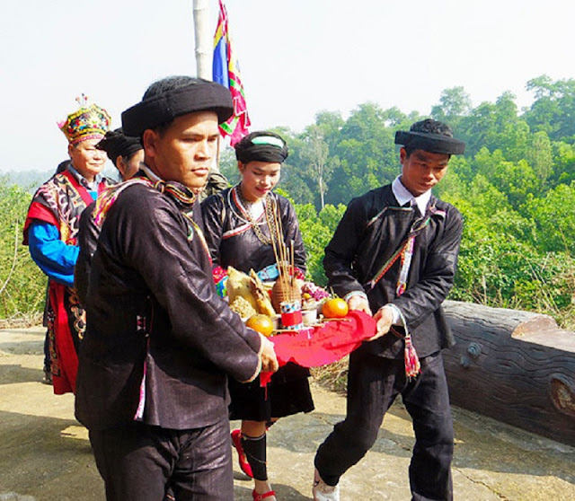Giay ethnic people's New Year Festival in Ha Giang 2