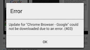Penjelasan dan solusi kode error di Google Play Store