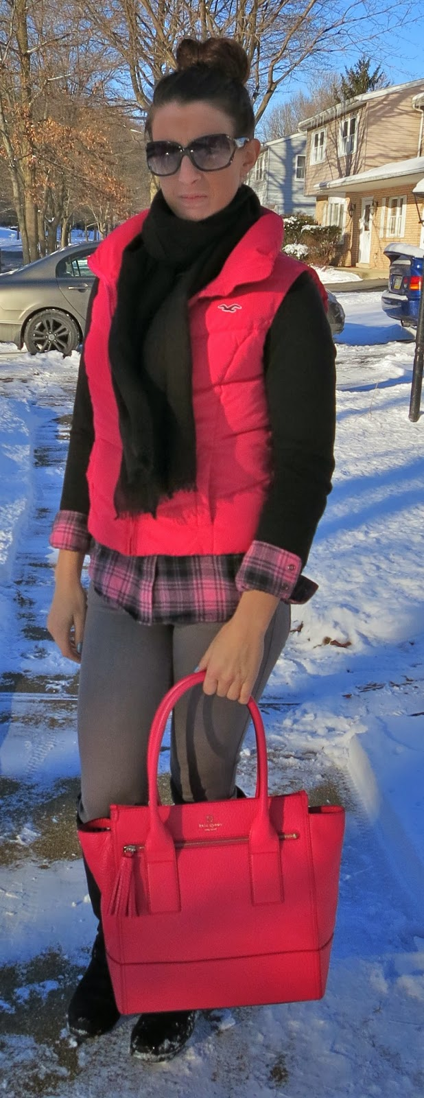 Fashion, ootd, Outfit Ideas, outfit of the day, Outfits, pink, winter fashion, kate spade bag,