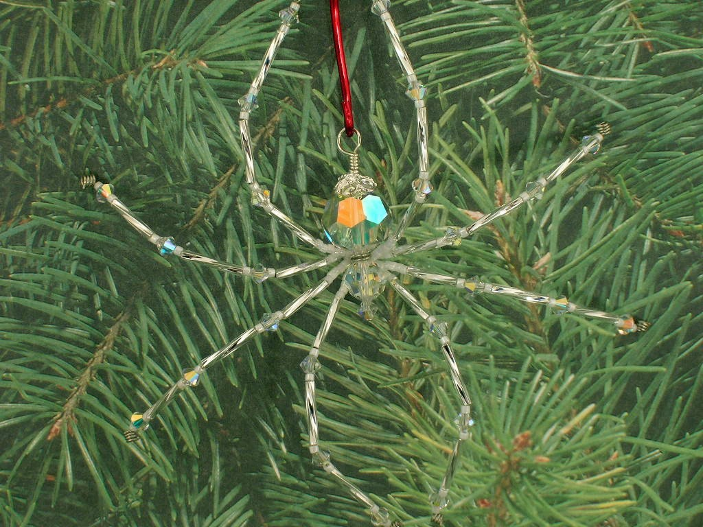 My Three Graces Garden Place: A Spider In My Christmas Tree