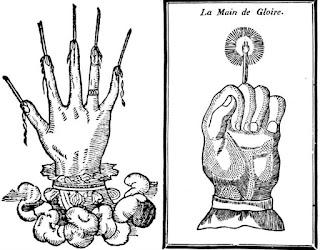 Mâna gloriei - Simbol și semnificație