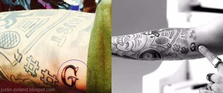 Tatuaże Justin Poland