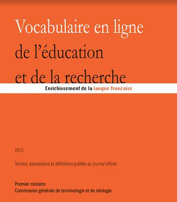 Vocabulaire en ligne de l'éducation et de la recherche PDF