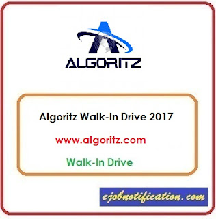 Algoritz Walk-In Freshers Web Content Writers jobs in Chennai 17th-27th Oct'2017