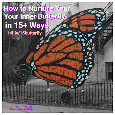 How to Nurture Your Inner Butterfly in 15+ Easy Ways, Self Help, Inspirational, Nurturing yourself, growing as a person, advice for growing, parenting advise, adult advise, love, sleep, dreams, meditation, read more, use money wisely, mark out your time wisely, set goals for yourself, allow yourself freedom, think first, say no, learning to say no, take care of your health, recongise your potential, know you are beautiful, take care of family, reputation, love fully and fiercely, advise by Via Bella, Via Bella