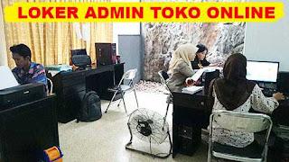 Lowongan Kerja Admin dan Sortir Produk Toko Online di Makassar