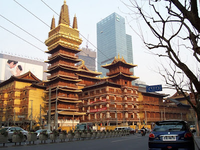 jingan temple china shanghai