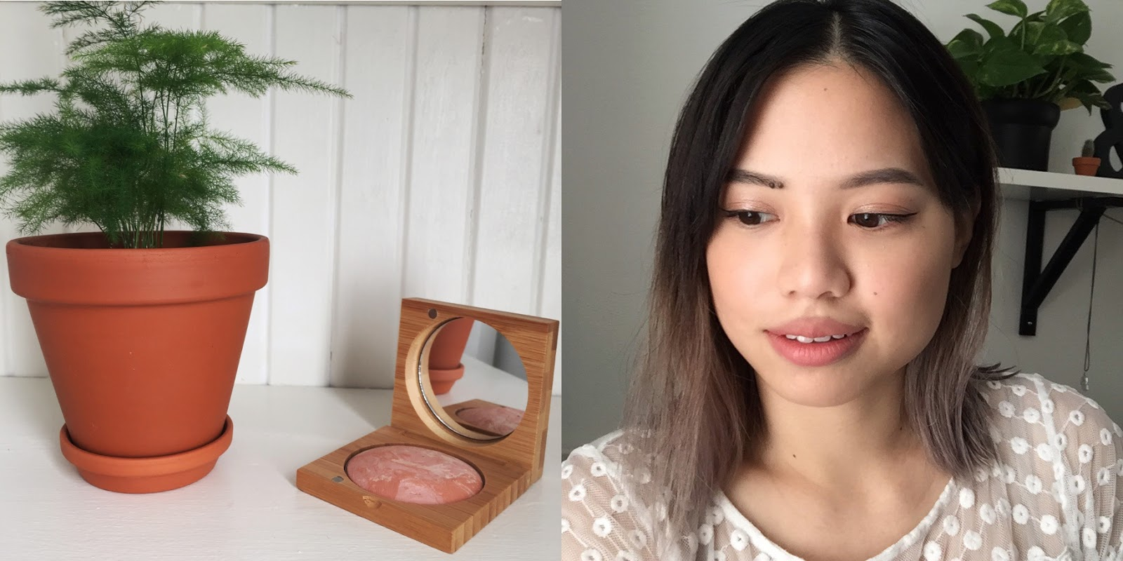 antonym baked blush in peach review organic makeup brand hellolindasau