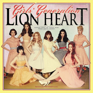 Girl's Generation - Lion Heart Albümü