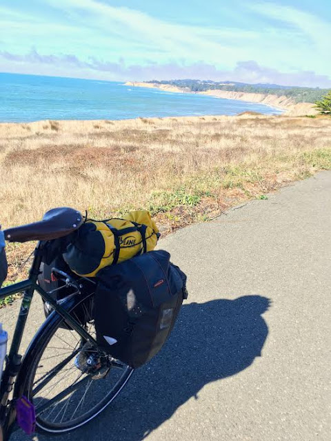 Bike touring Pacific Coast Route