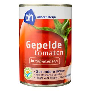 blik gepelde tomaten
