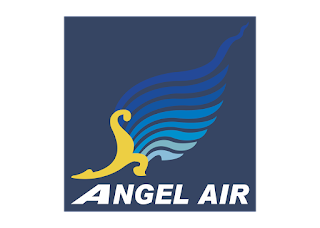 Angel Airlines Logo Vector