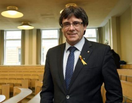 Ex-Catalan leader, Carles Puigdemont arrested In Germany