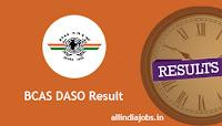 BCAS DASO Result