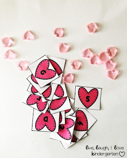 FREE Heart Letter and Number Cards