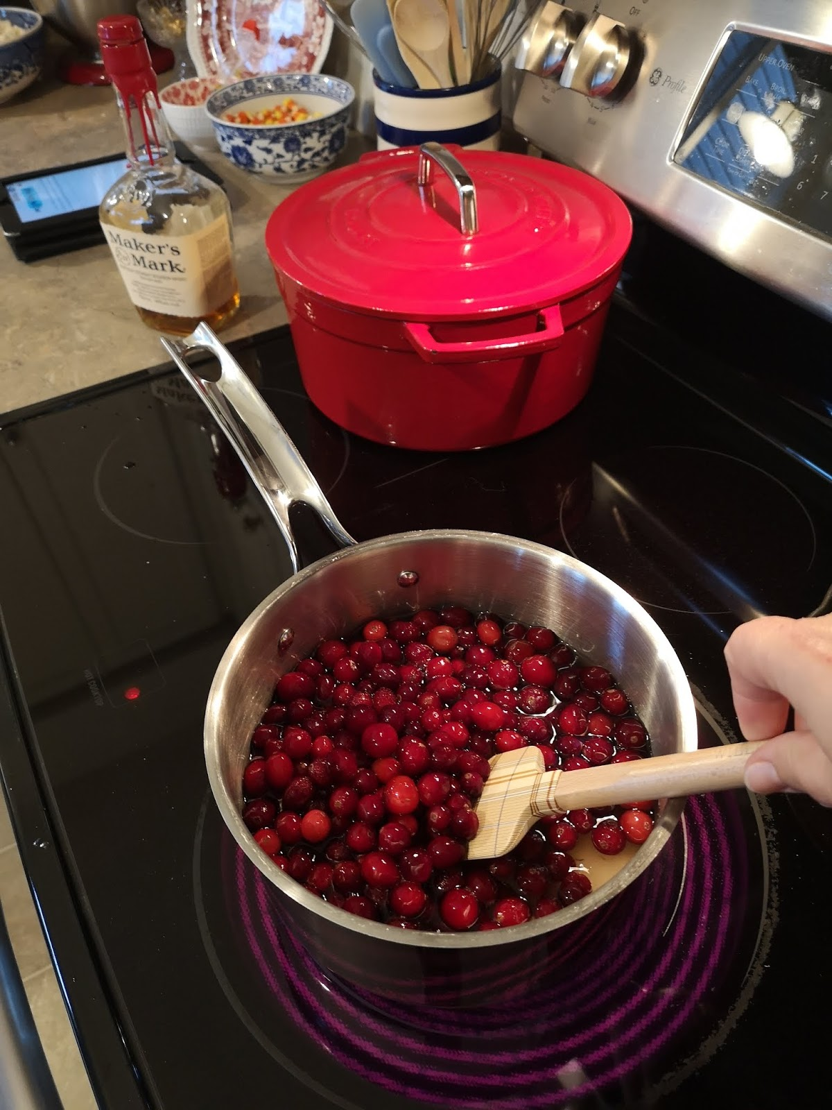 homemade, cranberry