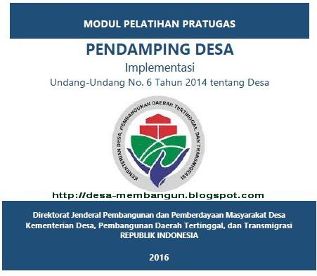 Modul Pelatihan Pratugas PDP dan PDTI 2016