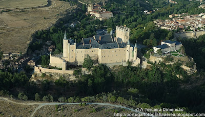 ESPANHA - Segóvia - Alcázar de Segovia