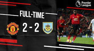 Manchester United vs Burnley 2-2 Highlights