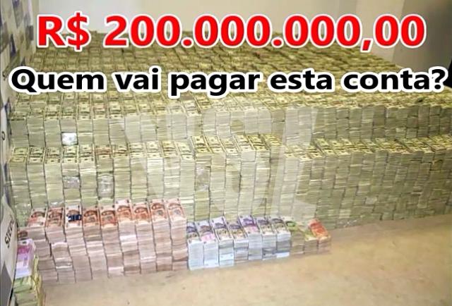 Exclusivo: Novo Prefeito deve herdar uma dívida próxima de R$ 200.000.000,00