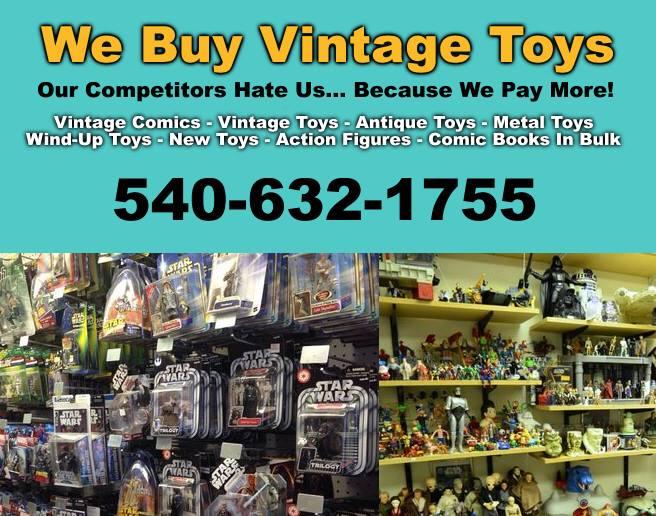 Vintage Toy Buyer - Old Toys Wanted In Roanoke VA | Roanoke