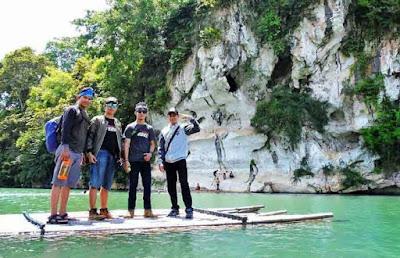 Rafting Bambu Sungai Amandit