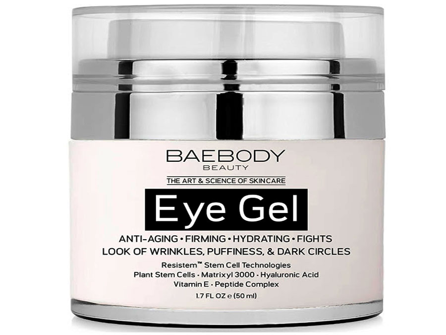 Baebody Eye Gel for Dark Circles, Puffiness, Wrinkles & Bags