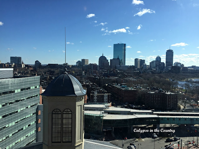 View from the 16th Floor - The Liberty Hotel in Boston