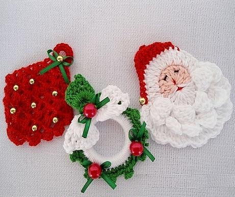 Addobbi Natalizi Alluncinetto.Natale All Uncinetto Crochet Punti E Spunti