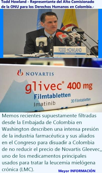 Derecho a la salud, Colombia y Congreso de Estados Unidos