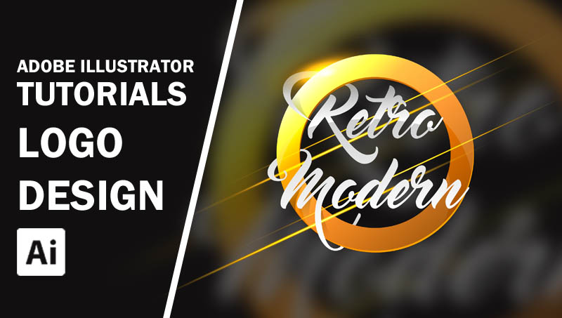 Adobe Illustrator Tutorials Create a Retro Modern Logo