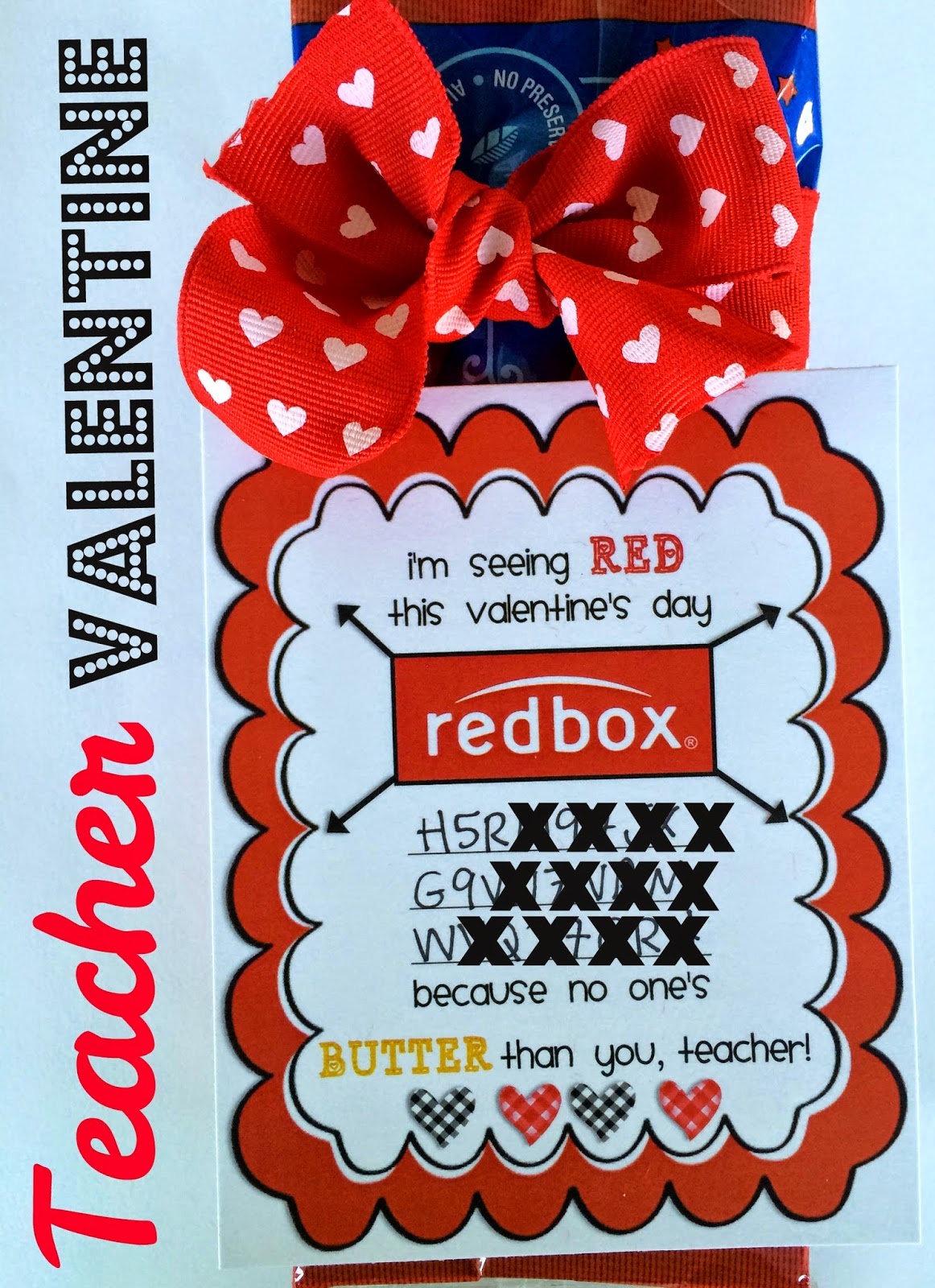 image regarding Redbox Printable titled Marci Coombs: Trainer Valentine Printable.
