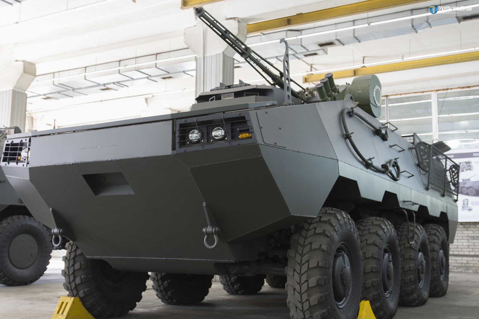 БТР Отаман 8х8 бойовим модулем Штурм-М