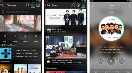 aplikasi streaming musik gratis android