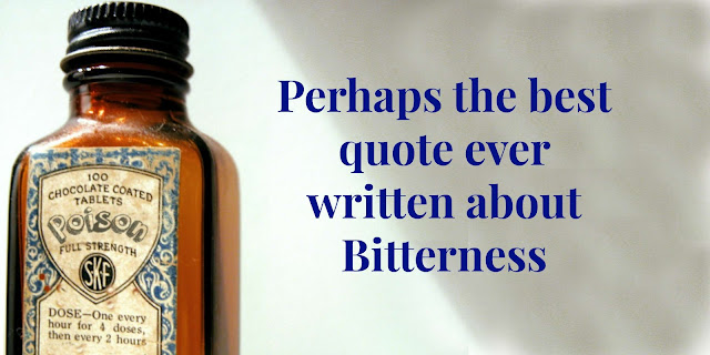 Bitterness is like drinking poison. This 1-minute devotion offers 4 Biblical ways to overcome bitterness. #BibleLoveNotes #Bible