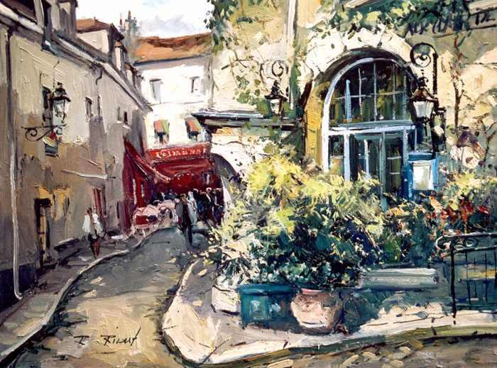 Французский художник. Robert Ricart