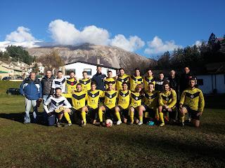 La squadra di calcio di Campo di Giove gioca nel campionato provinciale di terza categoria dell'Aquila
