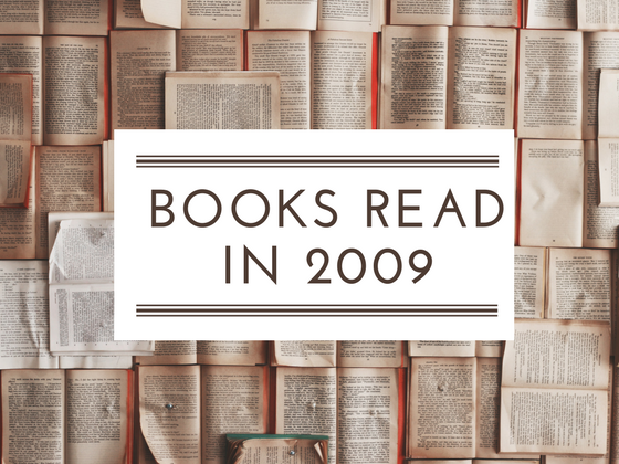 January - April 2009 Reads: